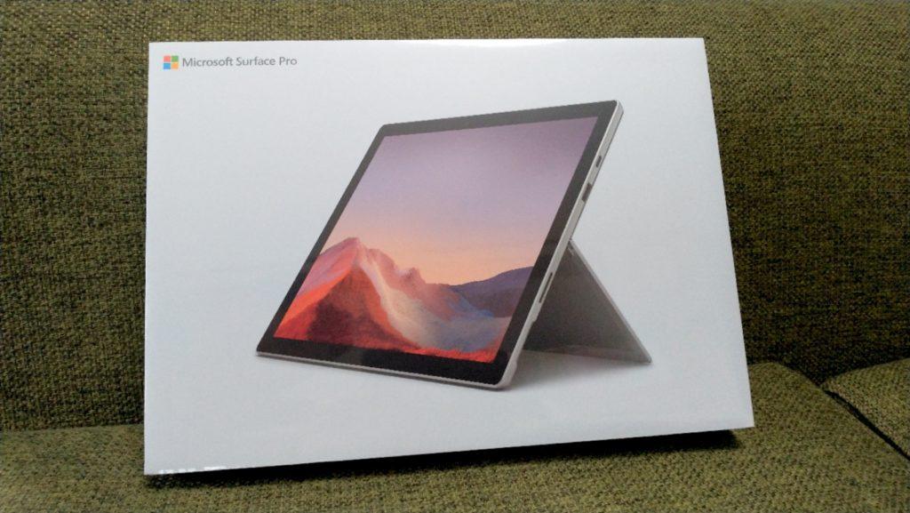 Surface Pro7 レビュー ドンキU1とは真逆のハイスペックタブレットPC